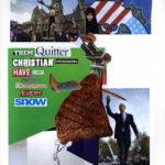 """Them quitter Christian chromosomes have a major righteous decompressor every snow""  Collage 17 x 14 inches 2012"