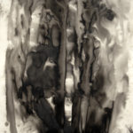 Darkness - India Ink on paper 90 x 55 inches 2013