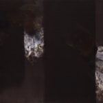 Elegy to the US Republic no. 4 (after Motherwell) (sold) -  Acrylic 36 x 60 inches 2014