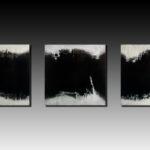 Gulf triptych (sold) -  Acrylic 48 x 144 inches 2015